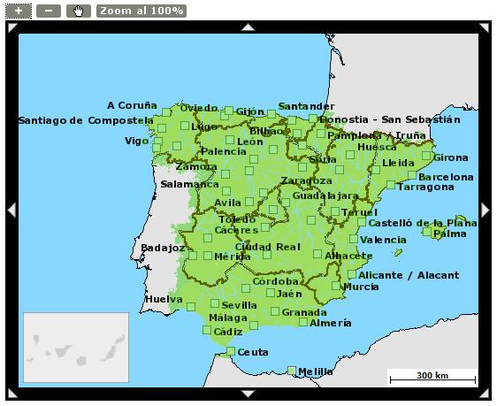 Mapa de cobertura Yoigo