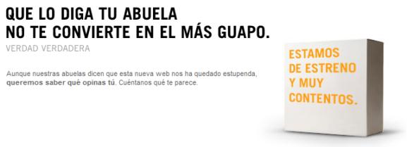 Nueva web Yoigo