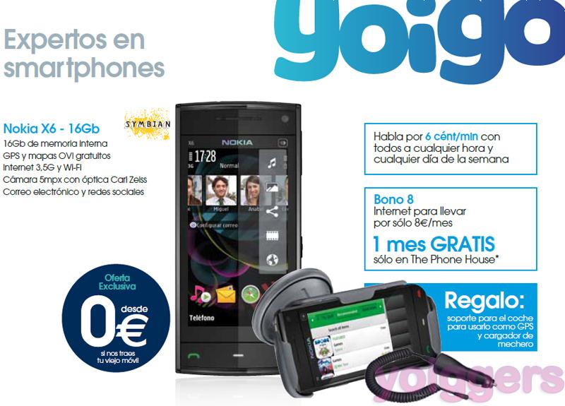 Ofertas Yoigo de noviembre en The Phone House