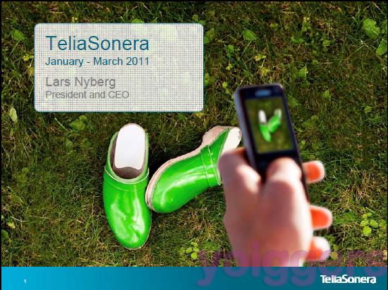Yoigo en el informe trimestral de TeliaSonera