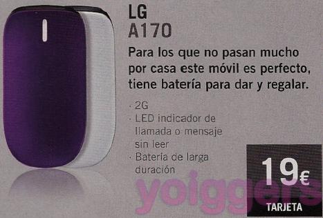 LG A170 con Yoigo