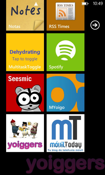 MYoigo para Windows Phone 7