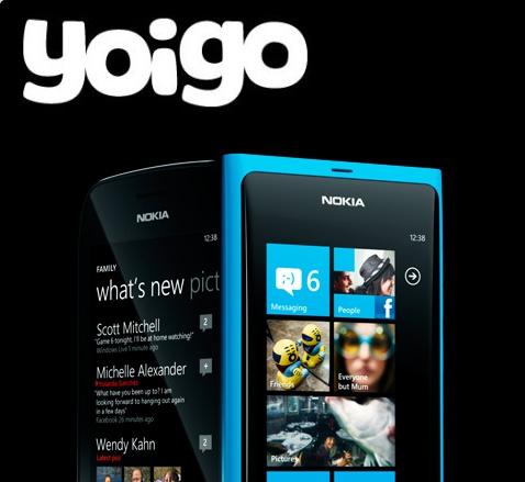 Nokia Lumia en Yoigo