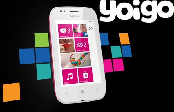 Nokia Lumia 710 con Yoigo