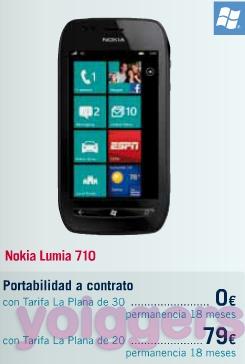 Nokia Lumia 710 con yoigo en TPH
