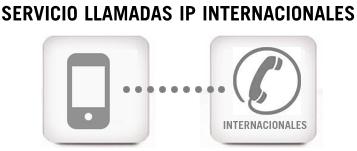 Llamadas IP internacionales Yoigo