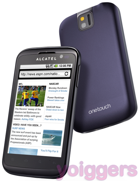 Alcatel One Touch Smart 991 con Yoigo