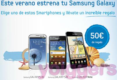 Promoción Samsung Galaxy con Yoigo en agosto