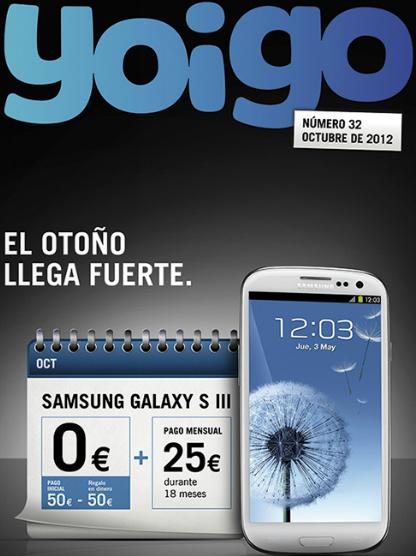 Revista octubre 2012 Yoigo