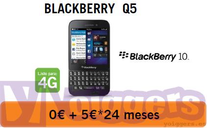 BlackBerry Q5 con Yoigo