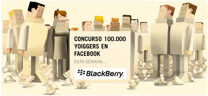 Concurso BlackBerry Z10 de Yoigo