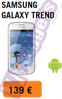 Samsung Galaxy Trend con Yoigo