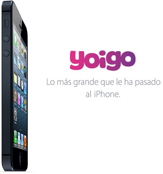 iPhone 5 con Yoigo