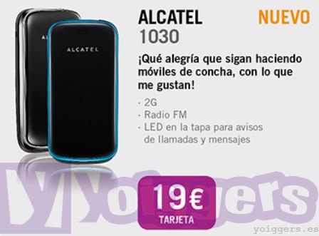 Alcatel 1030 con Yoigo