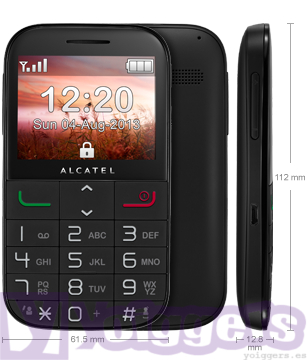 Alcatel 2000 Senior con Yoigo