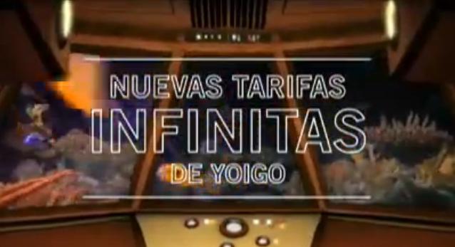 Nuevas tarifas Infinitas de Yoigo