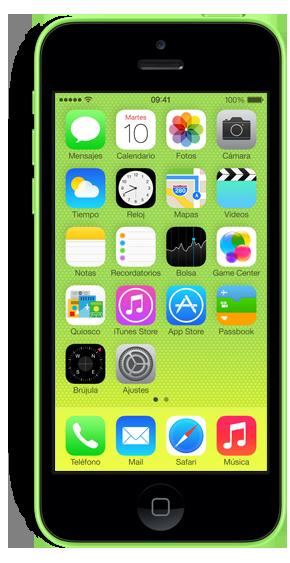iPhone 5c con Yoigo