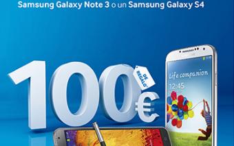 100 euros de descuento en el Sams