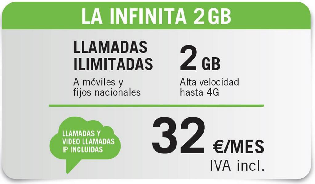 La Infinita 2 GB
