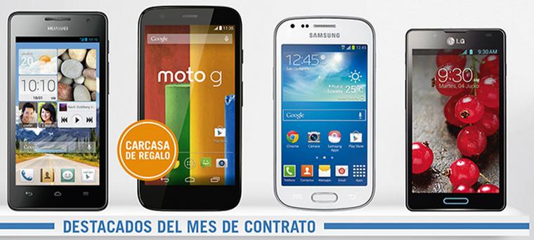 móviles por 1 euro al mes con cualquier tarifa Yoigo en junio