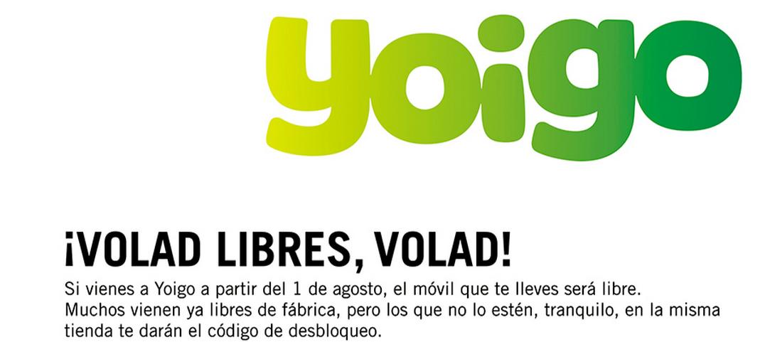 Móviles libres en Yoigo - Yoiggers
