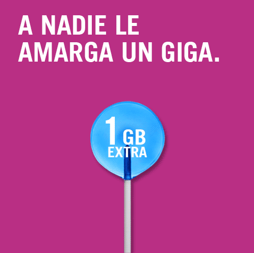 1 GB gratis Yoigo